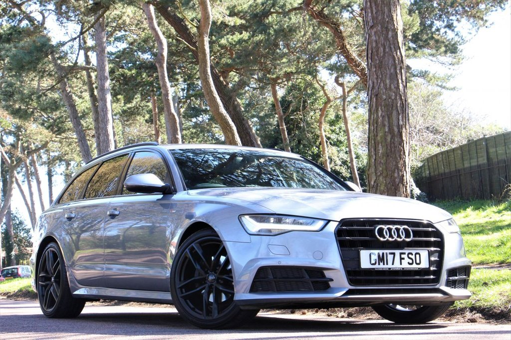 USED 2017 17 AUDI A6 2.0 AVANT TDI ULTRA BLACK EDITION 190BHP