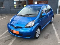 USED 2010 10 TOYOTA AYGO 1.0 BLUE VVT-I 5d 67 BHP ONE FORMER KEEPER !!
