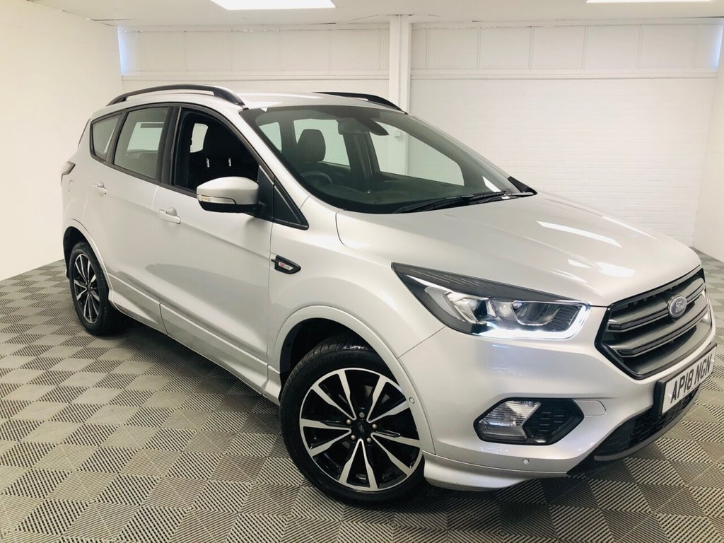 USED 2018 18 FORD KUGA 1.5 ST-LINE 5d 148 BHP £291 a month, T&Cs apply.