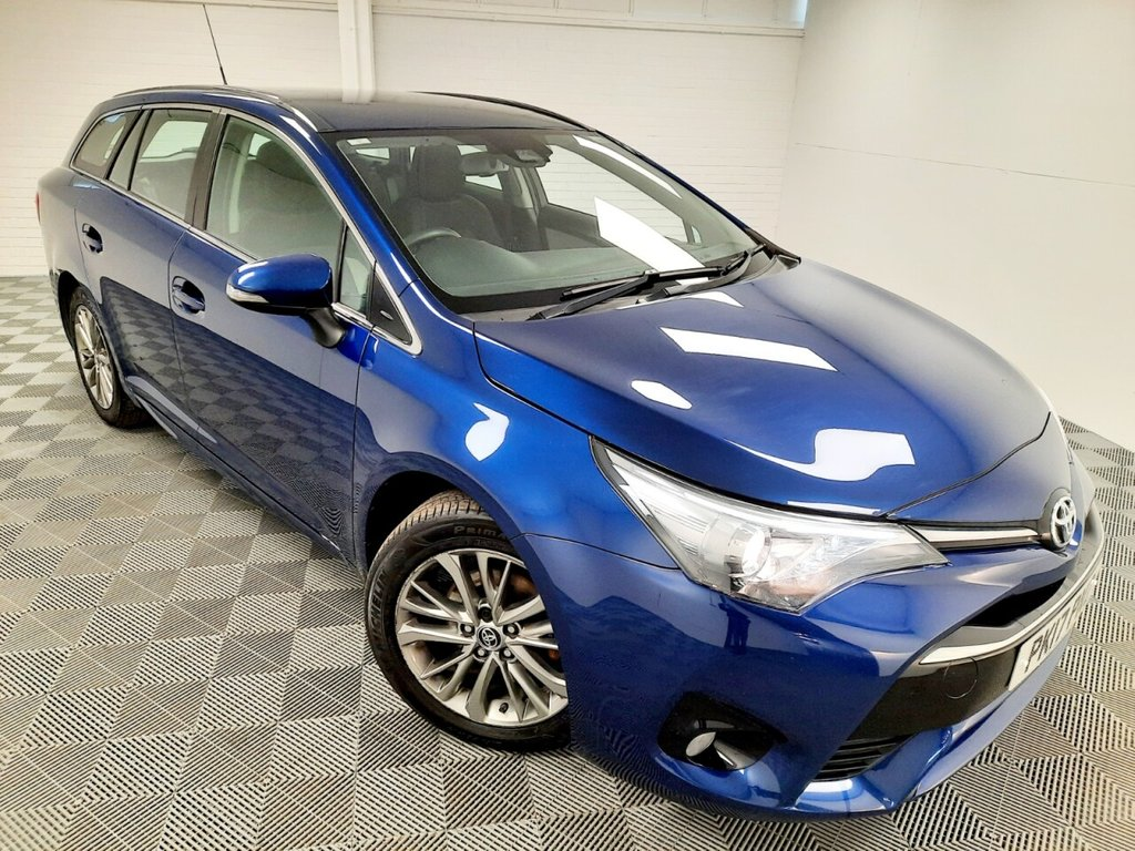 USED 2017 17 TOYOTA AVENSIS 1.6 D-4D BUSINESS EDITION 5d 110 BHP £169 a month, T&Cs apply.