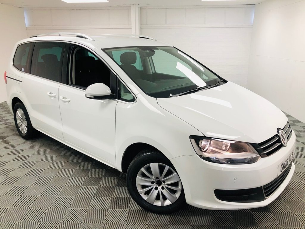 USED 2018 18 VOLKSWAGEN SHARAN 2.0 SE NAV TDI BLUEMOTION TECHNOLOGY 5d 148 BHP £323 a month, T&Cs apply.