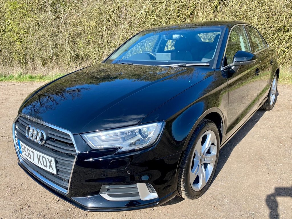 USED 2017 67 AUDI A3 1.5 TFSI SPORT 4d 148 BHP **12 MONTHS NATIONAL WARRANTY**