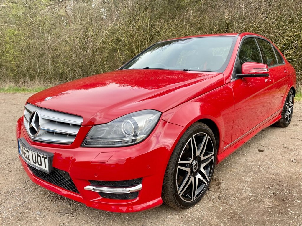 USED 2012 62 MERCEDES-BENZ C-CLASS 3.0 C350 CDI BLUEEFFICIENCY AMG SPORT PLUS 4d 262 BHP **12 MONTHS NATIONAL WARRANTY**