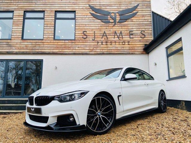 2018 67 BMW 4 SERIES 2.0 420I M SPORT 2d AUTO 181 BHP