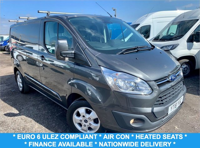 USED 2018 18 FORD TRANSIT CUSTOM 2.0 270 LIMITED LR P/V 129 BHP