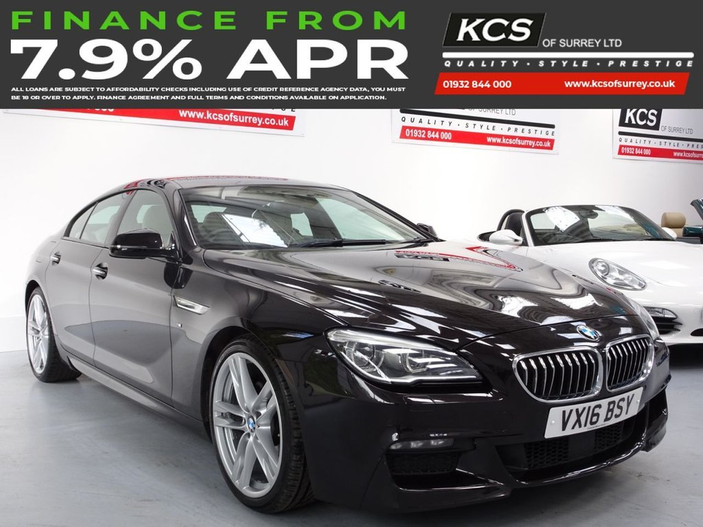 USED 2016 16 BMW 6 SERIES 3.0 640D M SPORT GRAN COUPE 4d 309 BHP HUGE SPEC -14K FACTORY OPTIONS