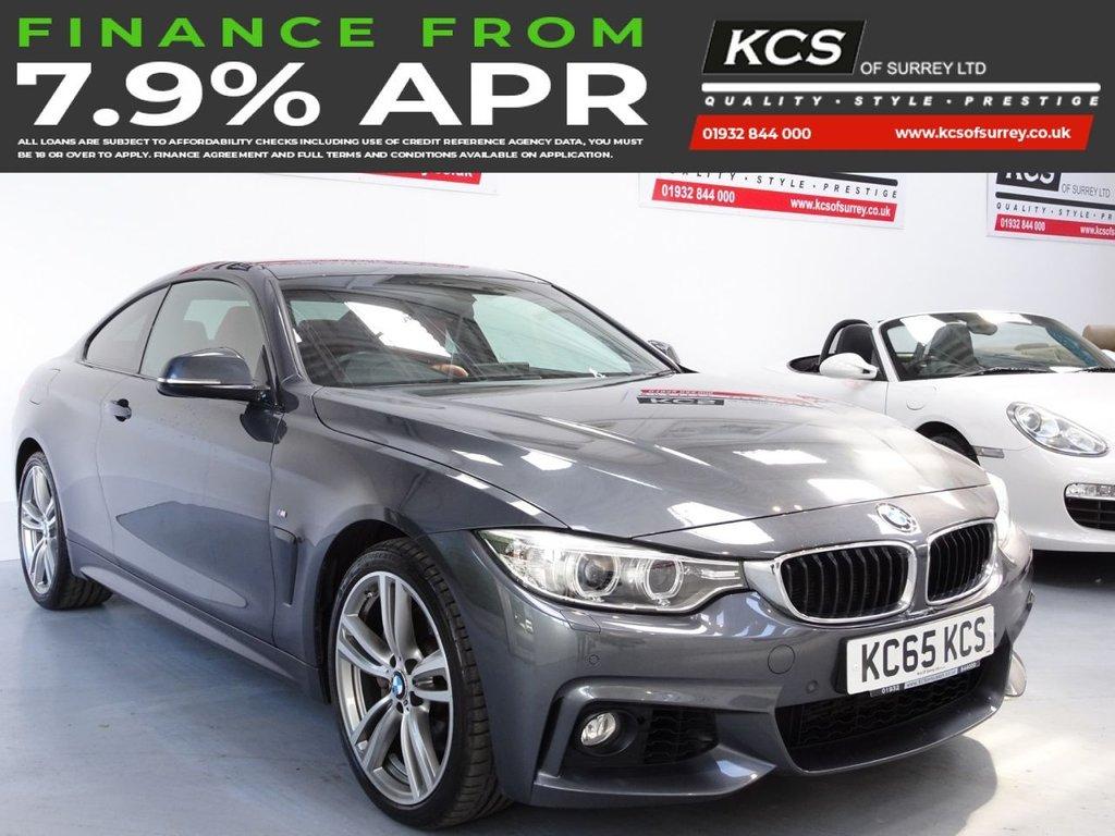 USED 2015 Y BMW 4 SERIES 3.0 435D XDRIVE M SPORT 2d 309 BHP PRO NAV - ELEC SEATS - XENONS
