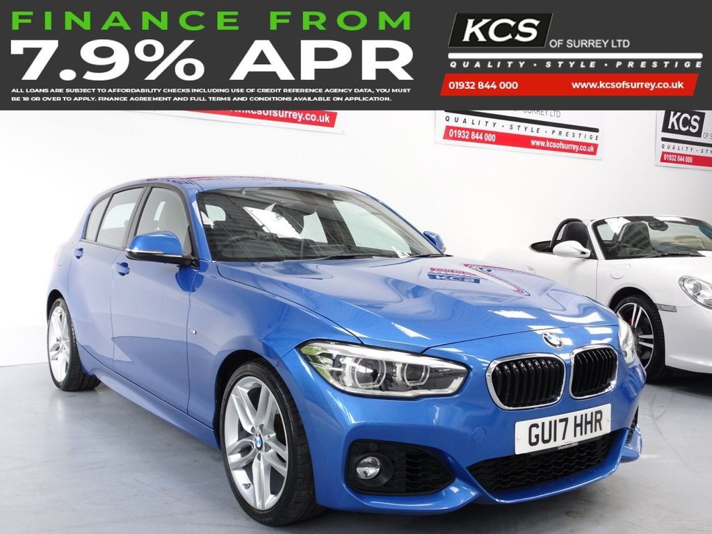 USED 2017 17 BMW 1 SERIES 1.5 118I M SPORT 5d 134 BHP PRO NAV - CAMERA - HTD LEATHER