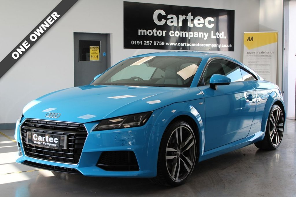 USED 2018 S AUDI TT 1.8 TFSI S LINE 2d 178 BHP ***LOW MILEAGE ***ONE OWNER***