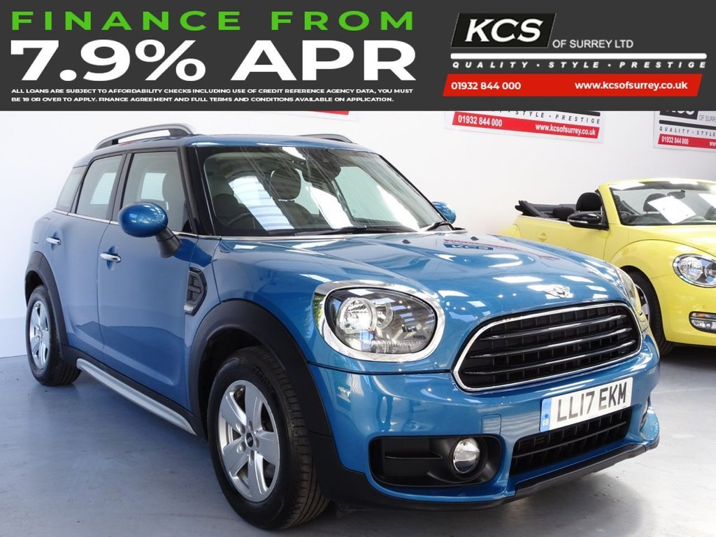 USED 2017 17 MINI COUNTRYMAN 1.5 COOPER 5d 134 BHP SAT NAV-PAN ROOF-HTD LEATHER