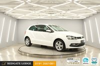 USED 2017 17 VOLKSWAGEN POLO 1.0 MATCH EDITION 3d 60 BHP LOW TAX + INSURANCE, CRUISE, FRONT + REAR PARKING SENSORS, 1 LADY OWNER, 4 SERVICES...