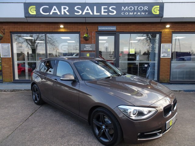 USED 2013 13 BMW 1 SERIES 2.0 120D XDRIVE SPORT 5d 181 BHP VERY RARE 4 WHEEL DRIVE, OVER £4500 WORTH OF OPTIONAL EXTRAS, SAT NAV, DAB RADIO, BLUETOOTH, FRONT AND REAR PARKING SENSORS, SIX SPEED GEARBOX, HPI CLEAR, 5 STAR RATED DEALERSHIP - BUY WITH CONFIDENCE