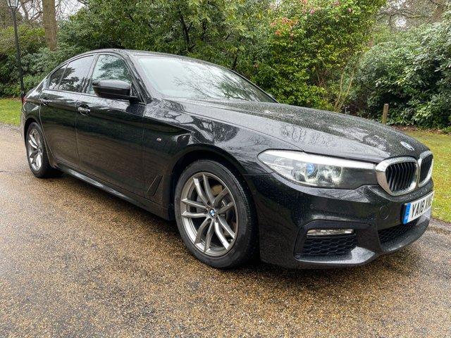 USED 2018 18 BMW 5 SERIES 2.0 520D M SPORT 4d 188 BHP