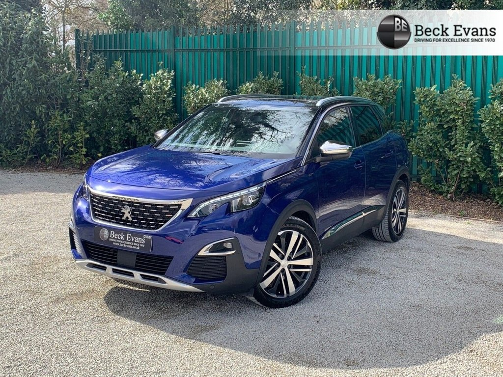 USED 2017 PEUGEOT 3008 2.0 Blue Hdi 180 CH GT EAT6 LHD