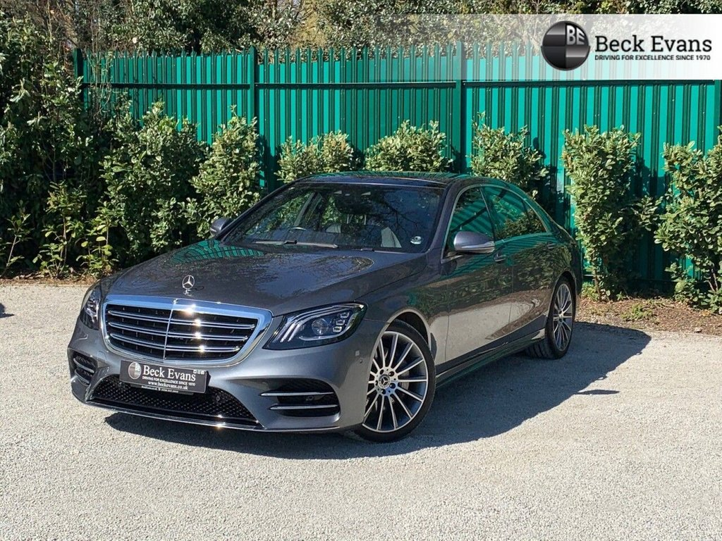 USED 2018 68 MERCEDES-BENZ S-CLASS 3.0 S 450 L AMG LINE 4d 363 BHP