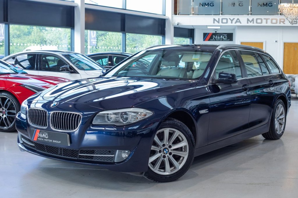 USED 2012 62 BMW 5 SERIES 2.0 520D SE TOURING 5d 181 BHP ***6 MONTH WARRANTY***