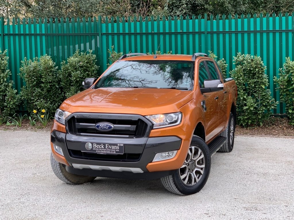 USED 2018 18 FORD RANGER 3.2 WILDTRAK 4X4 DCB TDCI 4d 197 BHP CHOICE OF TRUCKS