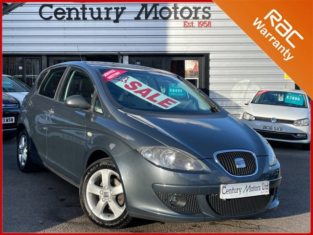 2008 57 SEAT ALTEA 1.6 Reference SPORT 5dr - HPI CLEAR