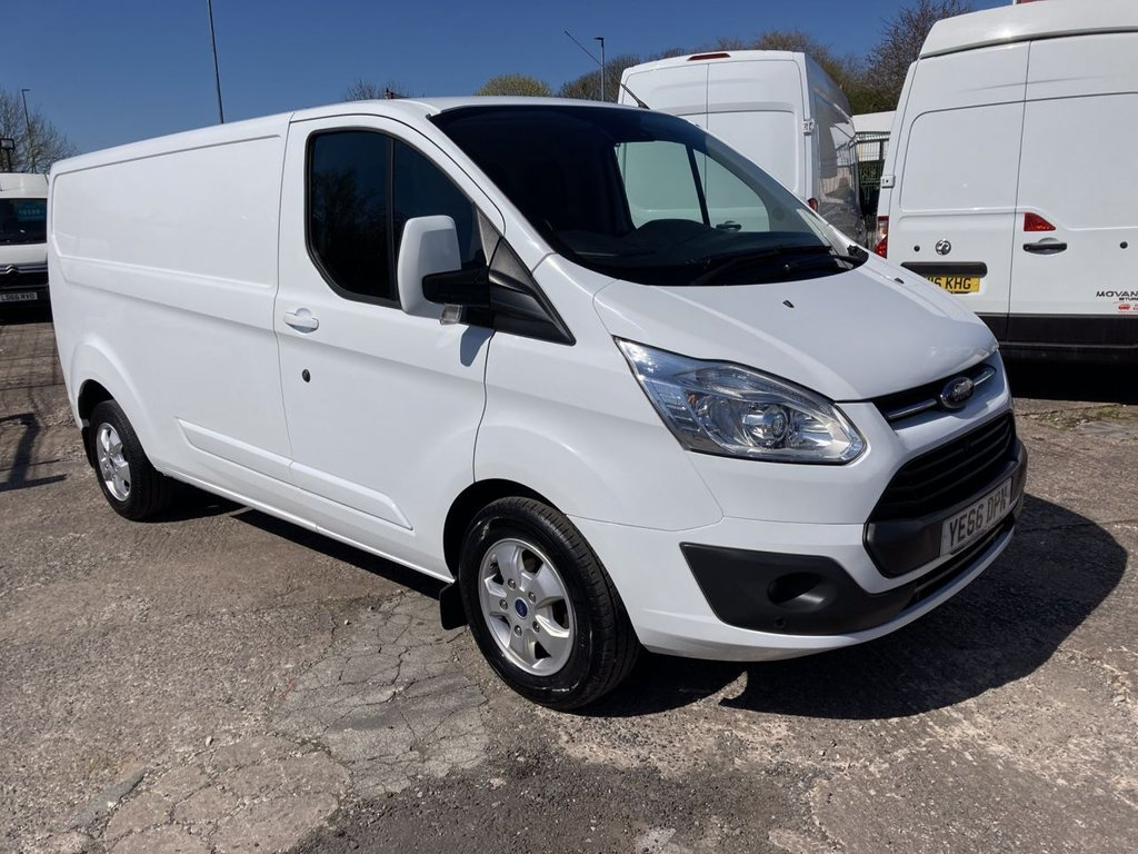 USED 2017 66 FORD TRANSIT CUSTOM 2.0 290 L2 LIMITED LR 129 BHP 1 OWNER FSH NEW MOT FREE WARRANTY INCLUDING RECOVERY AND ASSIST NEW MOT