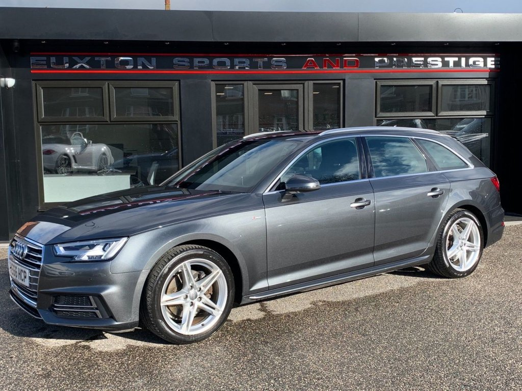 USED 2016 66 AUDI A4 2.0 TDI S line Avant S Tronic (s/s) 5dr £2000+ OF EXTRAS