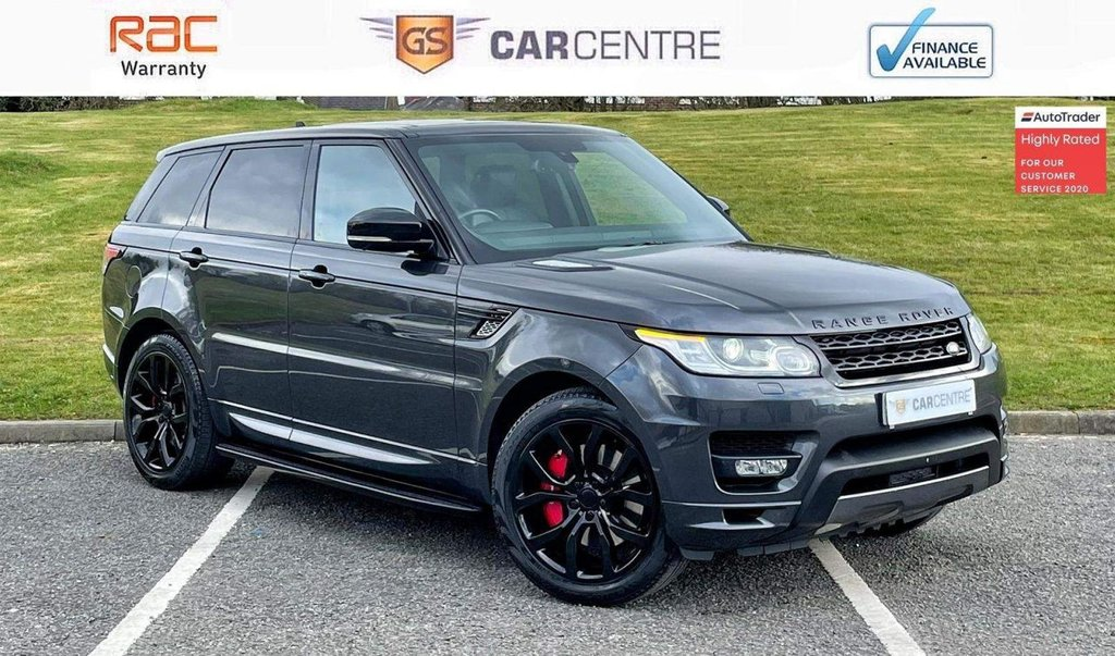 USED 2015 65 LAND ROVER RANGE ROVER SPORT 3.0 SD V6 Autobiography Dynamic 4X4 (s/s) 5dr Cameras|21' Alloys|Stealth Pck