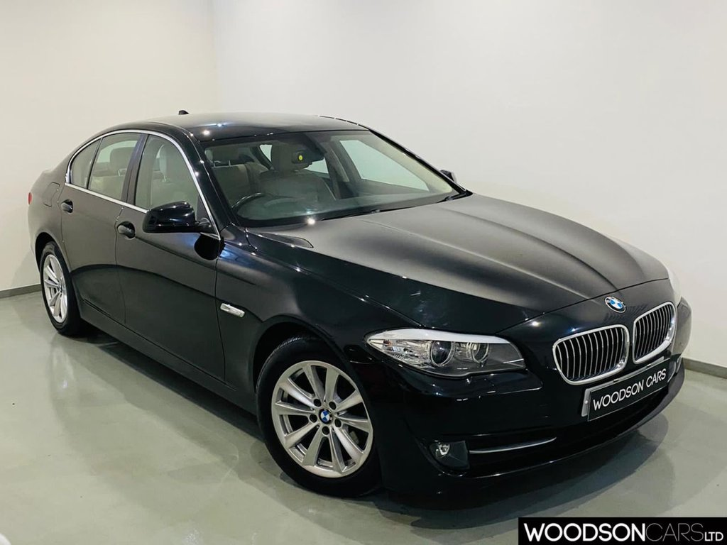 USED 2013 13 BMW 5 SERIES 2.0 520D SE 4d 181 BHP Sat Nav / Bluetooth / Parking Sensors / Isofix / Cruise Control
