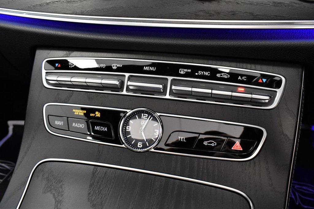 USED 2017 17 MERCEDES-BENZ E-CLASS E220D AMG LINE PREMIUM PLUS