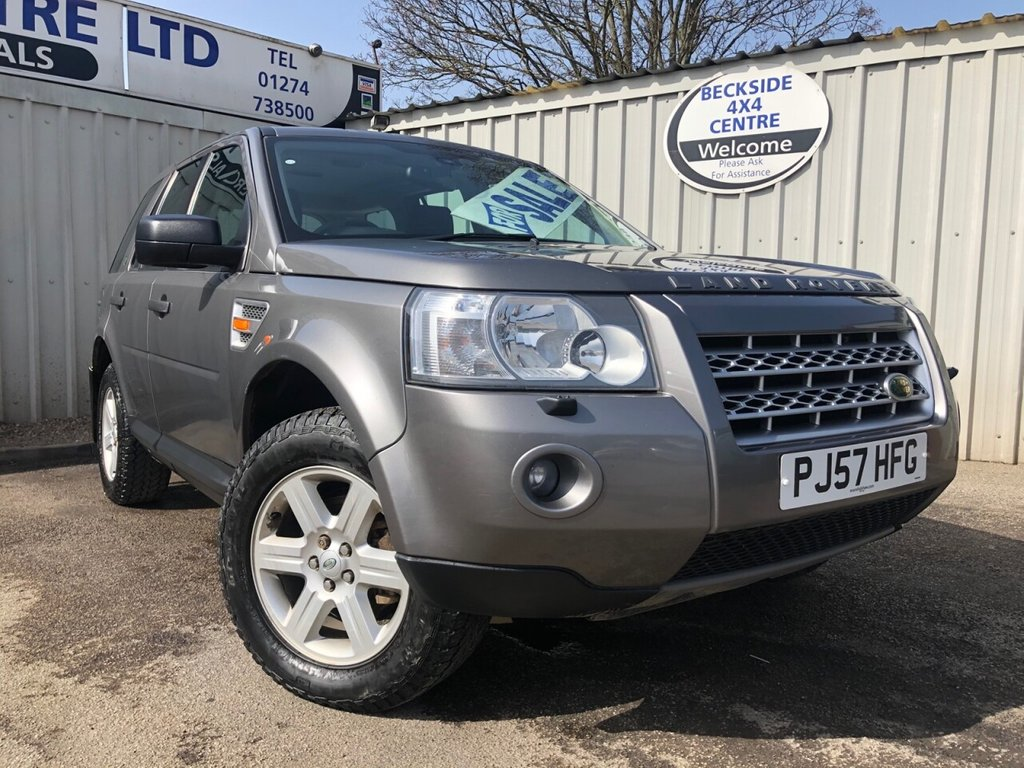 USED 2007 57 LAND ROVER FREELANDER 2.2 TD4 GS 5d 159 BHP BARGAIN TO CLEAR. LONG MOT