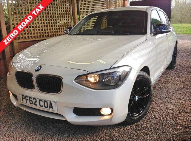 2013 62 BMW 1 SERIES 1.6 116D EFFICIENTDYNAMICS 5d 114 BHP