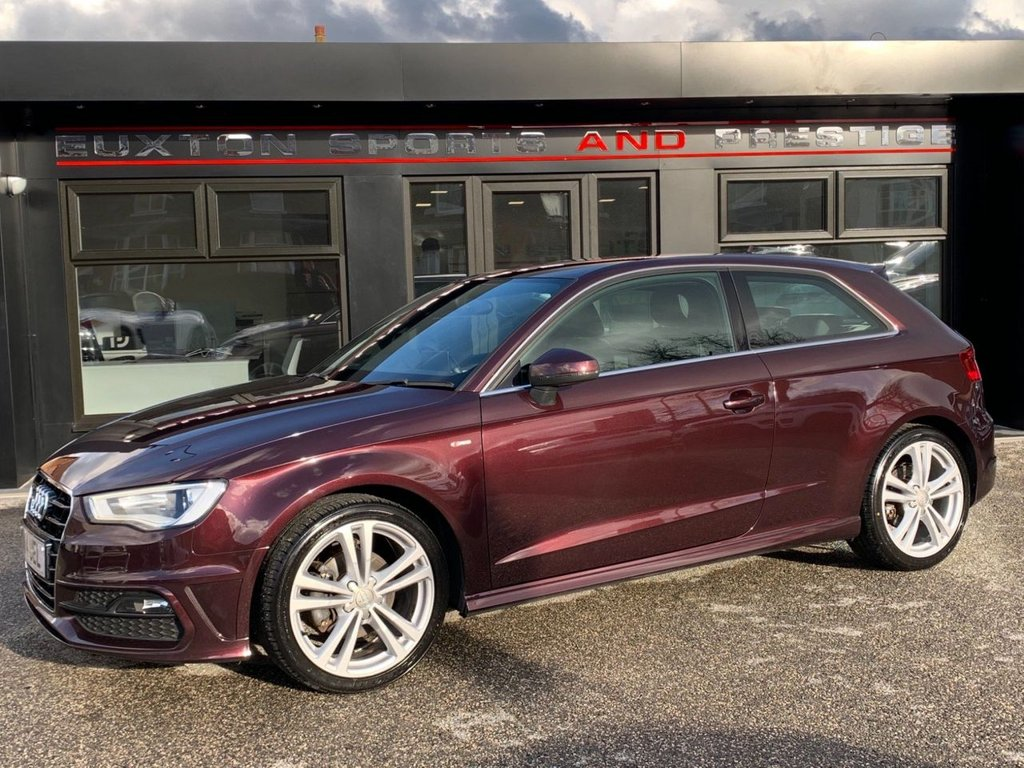 USED 2014 14 AUDI A3 1.4 TFSI S line 3dr FULL SERVICE HISTORY