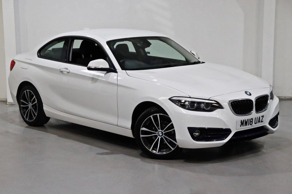 USED 2018 18 BMW 2 SERIES 1.5 218I SPORT 2d 134 BHP