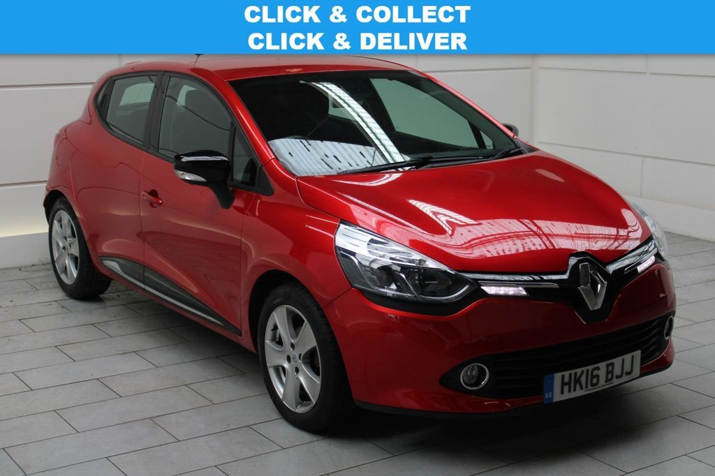 USED 2016 16 RENAULT CLIO 0.9 TCe Dynamique Nav (start/stop)