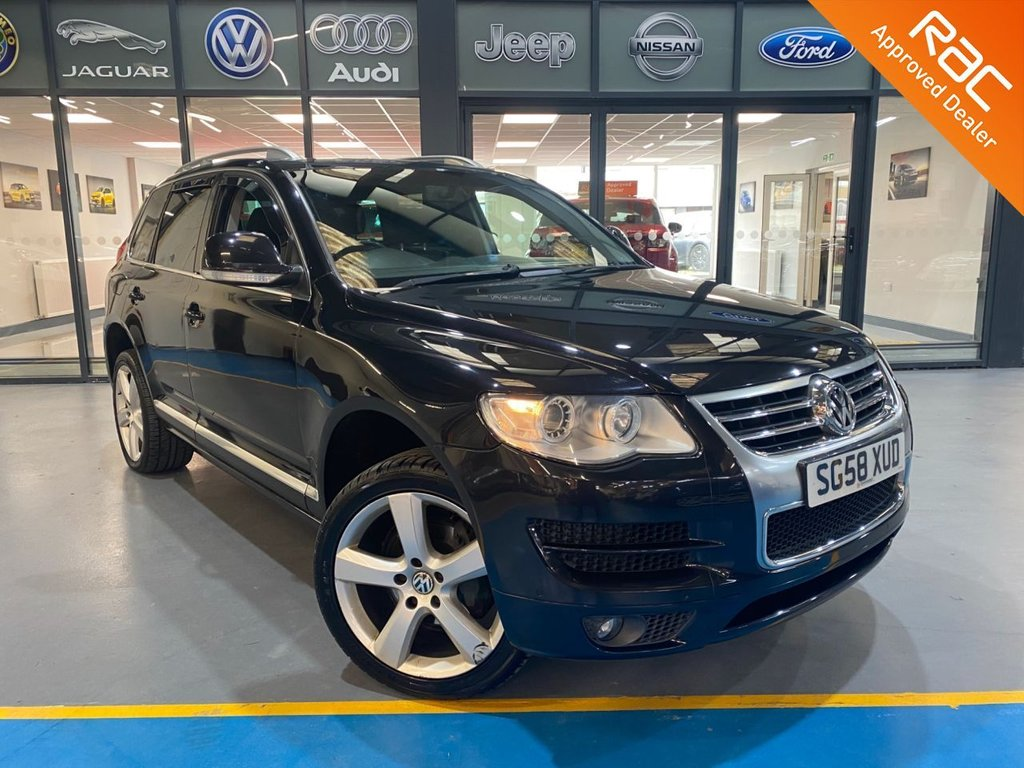 USED 2008 N VOLKSWAGEN TOUAREG 3.0 V6 ALTITUDE TDI 5d 221 BHP Complementary 12 Months RAC Warranty and 12 Months RAC Breakdown Cover Also Receive a Full MOT With All Advisory Work Completed, Fresh Engine Service and RAC Multipoint Check Before Collection/Delivery
