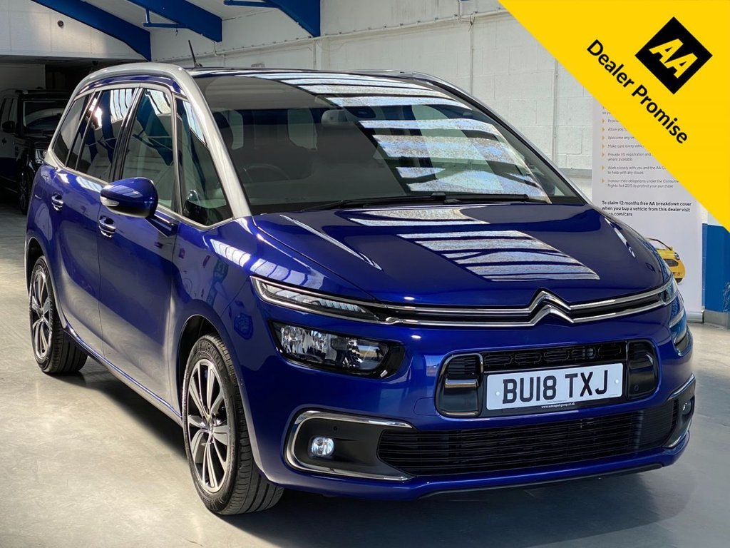 USED 2018 18 CITROEN C4 GRAND PICASSO 1.6 BLUEHDI FLAIR S/S EAT6 5d 118 BHP