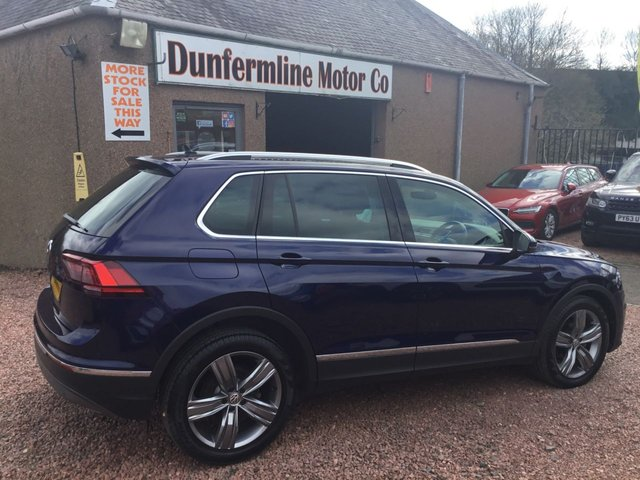 USED 2018 18 VOLKSWAGEN TIGUAN 2.0 SEL TDI BLUEMOTION TECHNOLOGY DSG 5d 148 BHP ++LOW MILEAGE+NICE SPEC+1 OWNER++