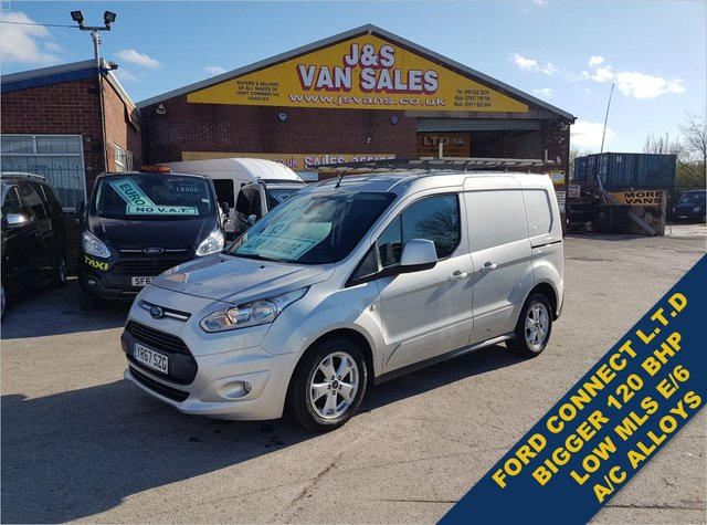 USED 2017 67 FORD TRANSIT CONNECT T 200 LIMITED P/V 120 BHP LOW MLS 73K ONLY  BIG STOCK EURO 6 VANS OVER 100 ON SITE