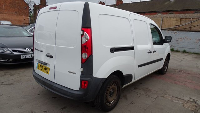 USED 2012 12 RENAULT KANGOO MAXI 1.5 LL21 CORE DCI W/V 90 BHP 1 YEAR MOT INCLUDED