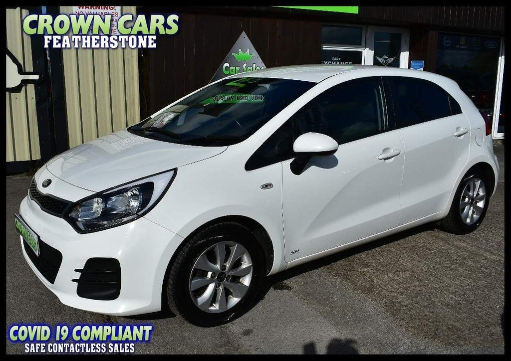 USED 2016 16 KIA RIO 1.25 SR7 5dr PERFECT TRHOUGHOUT