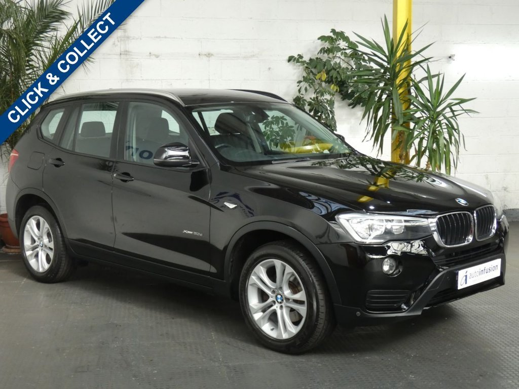 USED 2015 64 BMW X3 xDrive20d SE 5dr SAT NAV FULL LEATHER 2 OWNERS EXCELLENT SERVICE HISTORY