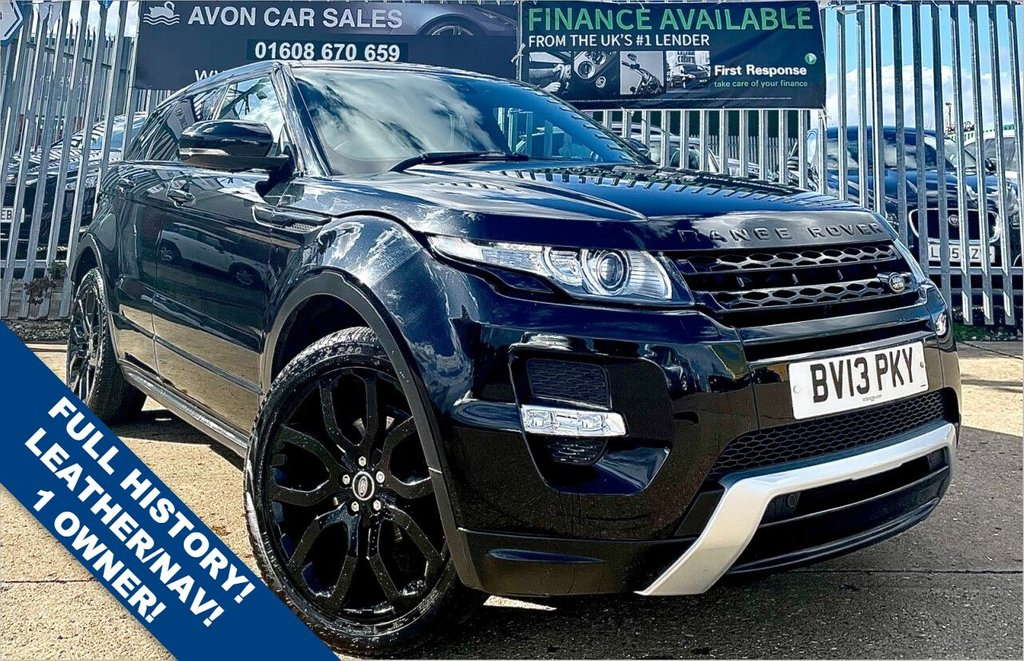 USED 2013 13 LAND ROVER RANGE ROVER EVOQUE 2.2L SD4 DYNAMIC 5d AUTO 190 BHP - 1 OWNER FROM NEW! FULL SERVICE HISTORY! LOW MILEAGE! FULL LEATHER! HEATED SEATS! SAT NAV! REVERSING CAMERA!