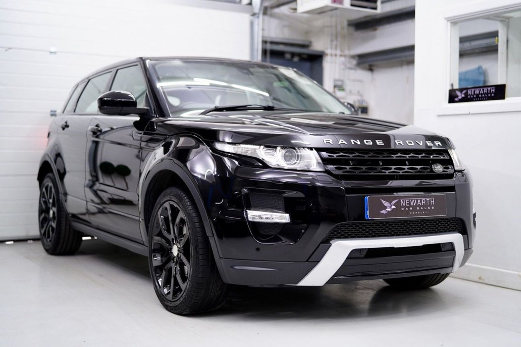 USED 2014 64 LAND ROVER RANGE ROVER EVOQUE 2.2 SD4 Dynamic AWD 5dr PAN ROOF   TINTS   BLACK 20'