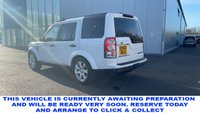 USED 2013 63 LAND ROVER DISCOVERY 4 3.0 SDV6 HSE 5d 7 Seat Family SUV 4x4 AUTO Stunning in White and Massive High Spec