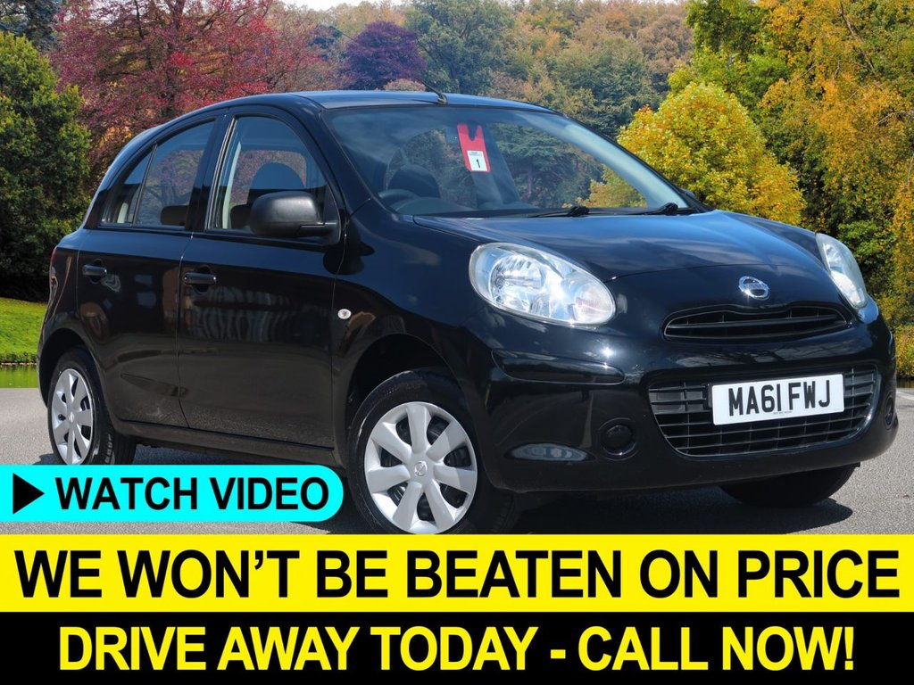 USED 2012 61 NISSAN MICRA 1.2 Visia 5dr Low Road Tax & Insurance Low Road Tax & Insurance