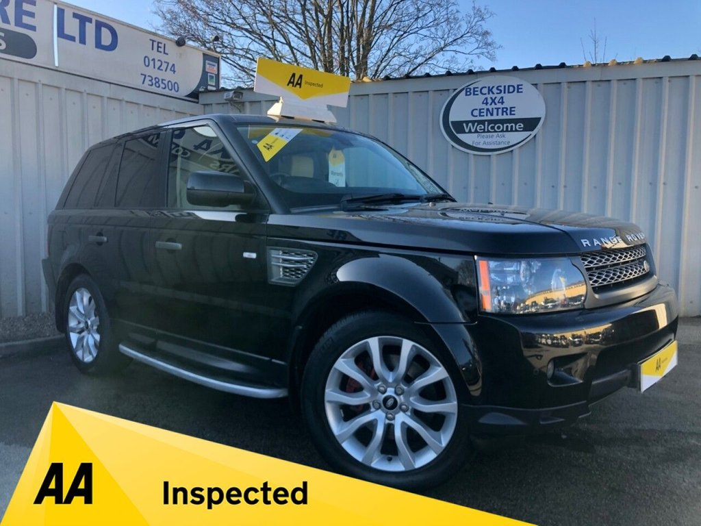 USED 2010 60 LAND ROVER RANGE ROVER SPORT 3.0 TDV6 HSE 5d 245 BHP AA INSPECTED. FINANCE. WARRANTY. HIGH SPEC. LOW MILEAGE. MANY EXTRAS