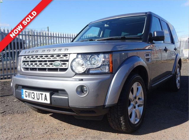 USED 2013 13 LAND ROVER DISCOVERY 3.0 4 SDV6 HSE 5d 255 BHP 6 LAND ROVER SERVICE STAMPS / 1 FORMER KEEPER
