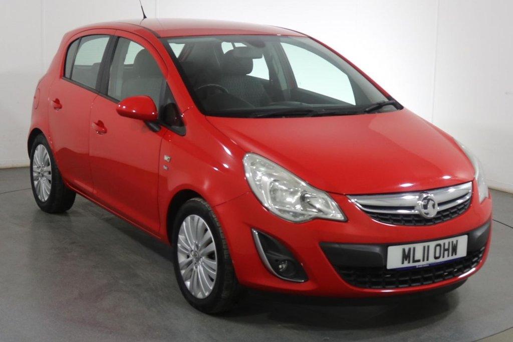 USED 2011 11 VAUXHALL CORSA 1.2 SE 5d 83 BHP 1 OWNER I FULL 10 STAMP SERVICE HISTORY