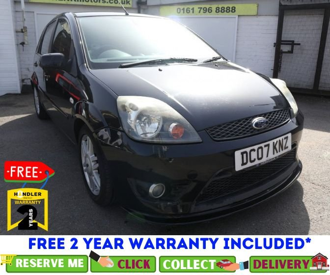 USED 2007 07 FORD FIESTA 1.6 Ghia 5dr AUTOMATIC *CLICK & COLLECT OR DELIVERY *