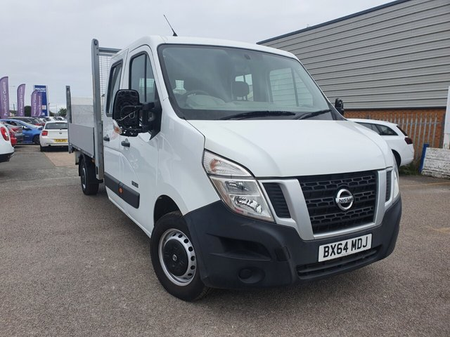 USED 2014 64 NISSAN NV400 2.3 DCI SE SHR C/C 125 BHP *** FINANCE& PART EXCHANGE WELCOME *** 1 OWNER FROM NEW 23000 MILES ELECTRIC FOLDING TAIL LIFT 7 SEATS BLUETOOTH PHONE CRUISE CONTROL,