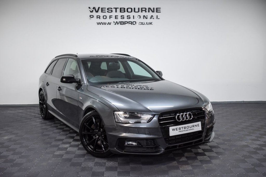 USED 2015 15 AUDI A4 2.0 AVANT TDI BLACK EDITION PLUS 4d 174 BHP Click&Collect / Home Delivery
