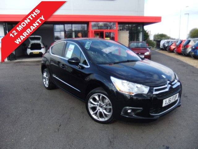 USED 2012 61 CITROEN DS4 2.0 HDI DSTYLE 5d 161 BHP *****12 Months Warranty*****